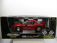 1/18 SCALE ERTL AMERICAN MUSCLE WEEKEND WARRIORS 1996 PONTUAC FIREBIRD