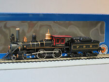 BACHMANN HO STEAM LOCOMOTIVE AMERICAN 4-4-0 & TENDER PRR train BAC 51114