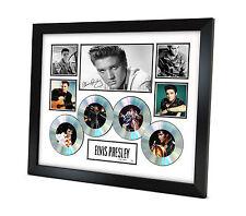 Elvis Presley - Signed Memorabilia - Limited Edition Certificate - Framed - B