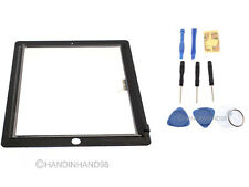 Ricambio Nera Digitalizzatore Touch Screen LCD Vetro Frontale Display Per iPad 3