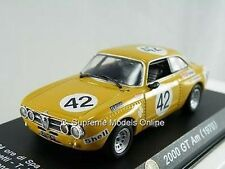 Alfa Romeo 2000gt Am 1970 Modelo Auto De Carreras 1/43rd Escala Clásico tema k8967q ~ # ~