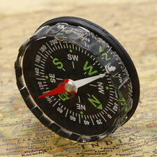 Mini Compass Liquid Filled Button Survival Camping Outdoor Hiking Accessories