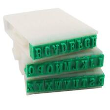 26 English Alphabet Letters Plastic Rubber Stamp Detachable Craft Set DIY
