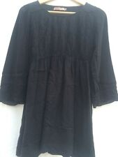Saint Tropez Black Blouse Top Size XS 6/8   T321