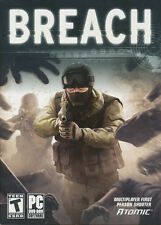BREACH - Military Combat Shooter PC Game for Windows XP, Vista, 7 - BRAND NEW!