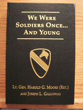 General Hal Moore signed We Were Soldiers Once Vietnam War Flat Press Easton