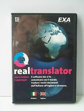 REAL TRANSLATOR italiano/inglese [SOFTWARE]