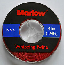 Marlow Whipping Twine (No. 4) 41m / 134ft - Red