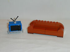LEGO Simpsons House Living Room Furniture Couch and TV 71006 NEW
