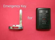 New Uncut Emergency Insert Key Blade for Cadillac CTS STS M3N5WY7777A