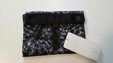 NWT Break free Kit Sweaty Plume Black White Make up bag travel toiletry pouch