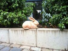 Niedlicher Hase, Schmuck für Haus und Garten Handarbeit Terracotta NEU 29 cm