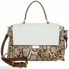 ** FIORELLI **TEAGAN NATURAL SNAKE SATCHEL  BAG ** £32.99p ** BNWT ** RRP £59**