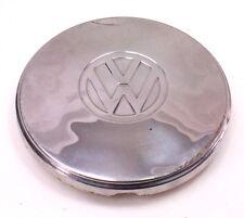 """7.5"""" Chrome VW Hub Cap Wheel Cover Beetle Ghia Fastback - Genuine"""