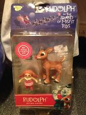 Memory Lane Rudolph Misfit Toys Light Up Nose & Misfit Doll Action Figures New