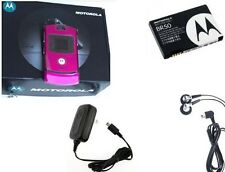 Motorola RAZR V3 - Pink (Factory Unlocked) GSM Cellular Phone New