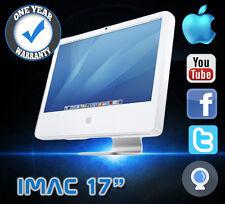 "IMAC APPLE 3.66GHZ 160GB 2GB RAM CORE 2 DUO A1195 17"" MAC OS SNOW LEOPARD"