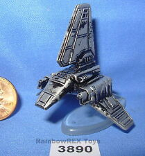 Star Wars Micro Machines IMPERIAL SHUTTLE Pewter Color with stand