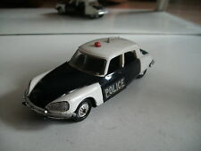 Norev Citroen DS 21 Police in Blue/white on 1:43