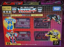 Transformers Encore 15 Cassettes by Takara Tomy Factory Sealed