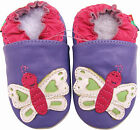 shoeszoo butterfly purple 18-24m S new soft leather baby shoes