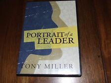 Portrait of a Leader Tony Miller 4 cd set great passion drives greatness god