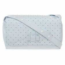 PASITO A PASITO Blue & White Polka Dot Changing Bag - Brand New