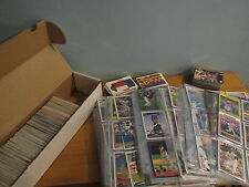 Mixed Sports Card Lot of over 700 cards Hockey Baseball Football and 78 Sleeves