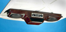 GOLF CART OVERHEAD RADIO CONSOLE WITH RADIO, SPEAKERS, & ANTENNA