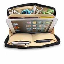 New BUBM iPad Mini Grey Padded Zip Up Pouch Bag Travel Card Accessories Case