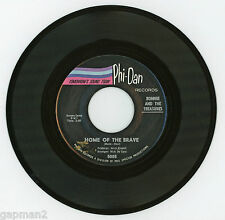 Bonnie And The Treasures 1965 Phi-Dan 45rpm Home Of The Brave  Charlotte O'Hara