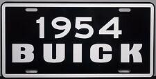 1954 BUICK METAL LICENSE PLATE SUPER RIVIERA ESTATE WAGON CONVERTIBLE ROADMASTER