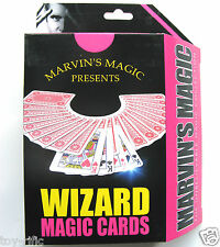 Marvin Magic WIZARD MAGIC CARDS - 20 Trucchi per eseguire-NUOVISSIMO!!