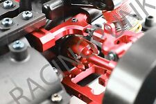 RC Car Hop Up Upgrade Alloy Front Rear Gear Box joint for Tamiya TT01 TT01E RED