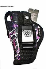 "Gun Holster For Smith & Wesson M&P SHIELD 9mm & 40 Caliber ""Muddy Girl"""