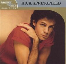 Platinum & Gold Collection by Rick Springfield (CD, Sep-2003, BMG (distributor))