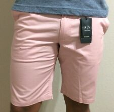 NEW!!! BEST DEAL! ARMANI EXCHANGE  Classic Shorts Light Pink.K6S504CO.MSRP$64.50