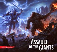 Dungeons and Dragons Assault of the Giants Board Game WZK 72185