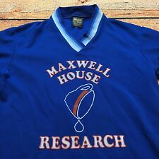 80s VTG MAXWELL HOUSE COFFEE Baseball Jersey T Shirt Indie Brew S Mod SWINGSTER