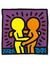 large 60 x 80 cm fine art print keith haring untitled 1987 poster style NEW