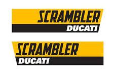 2 Adesivi ducati scrambler stickers SET ADESIVI MAIN LOGOS