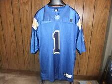 UCLA Bruins football jersey Adidas XL blue number 1