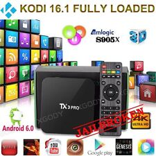 2016 New Quadcore Tx3 Pro smart TV Box S905x KODI Android 6 wifi hdmi 4K mxq m8s