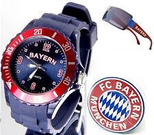 1FC Bayern München Bierdeckel+Bayern Städte Armbanduhr+Sonnenbrille(NEU)21*