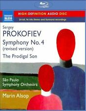 Prokofiev: Symphony No. 4, The Prodigal Son (Blu Ray Audio), New Music