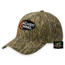 NEW BROWNING WICKED WING LOGO CAMO COTTON HAT BALL CAP BOTTOMLAND CAMO