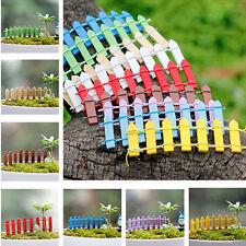 5X clôture en bois palissade jardin ornement accessoire fée paysage décoration cn
