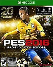 PRO EVOLUTION SOCCER 2016 Xbox ONE NEW