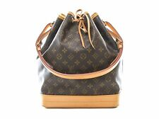 Authentic Louis Vuitton Noe monogram shoulder bag tote M42224