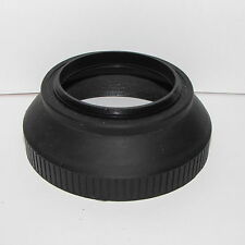 Used 58mm Collapsible Rubber Lens Hood vintage generic S113015